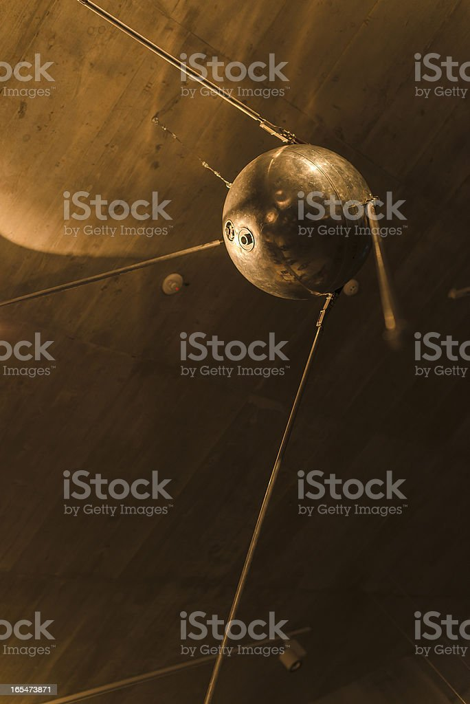 Old satellite stock photo