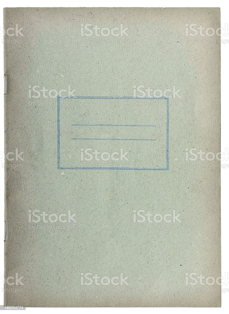 Old school book royalty-free stock photo