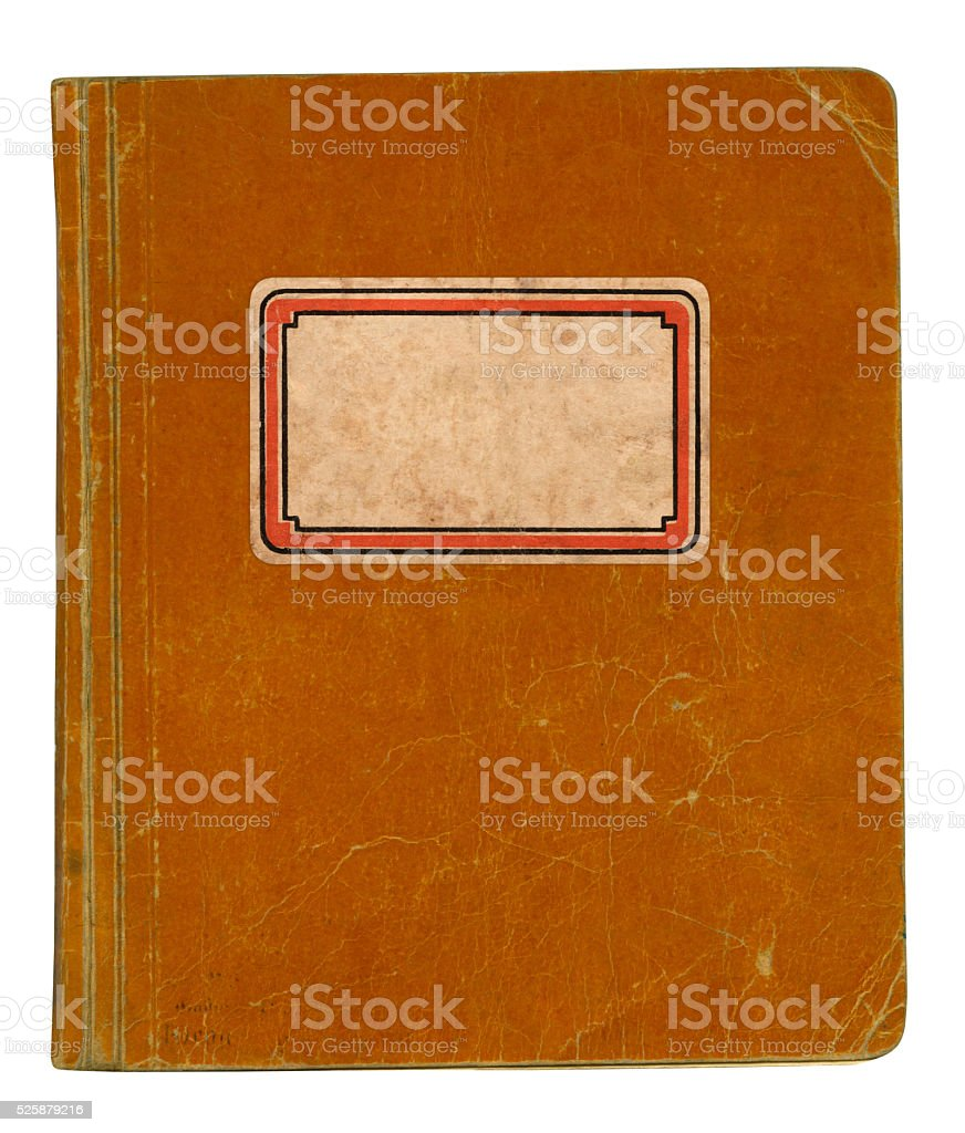 Old School Book stock photo
