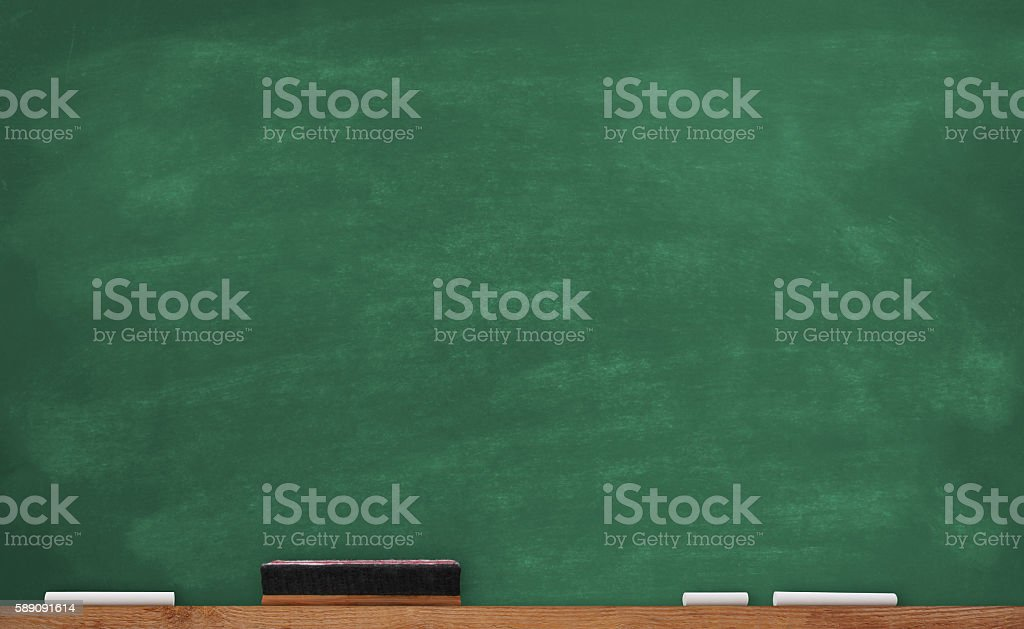 Old School Chalkboard stock photo