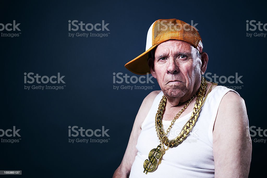 Old School grandfather royalty-free stock photo