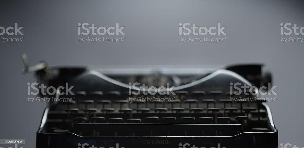 Old School Typewriter stock photo