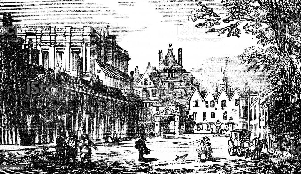 Old Scotland Yard stock photo