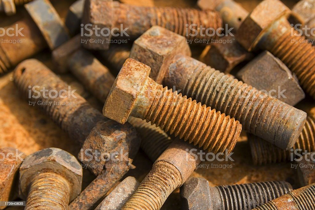 old screw royalty-free stock photo