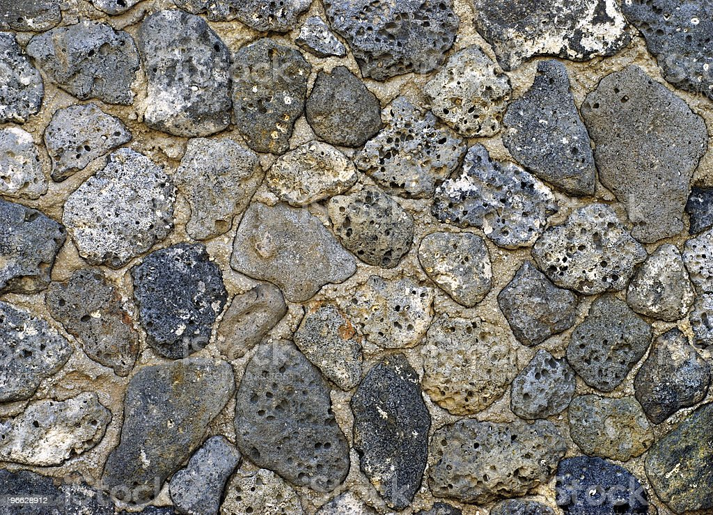 Old Sea Shell Rocks stock photo