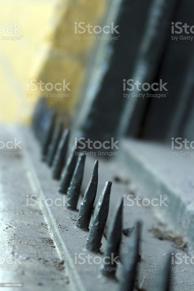 Old security royalty-free stock photo