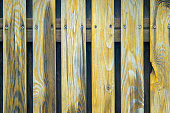 Old Shabby Wooden Fence