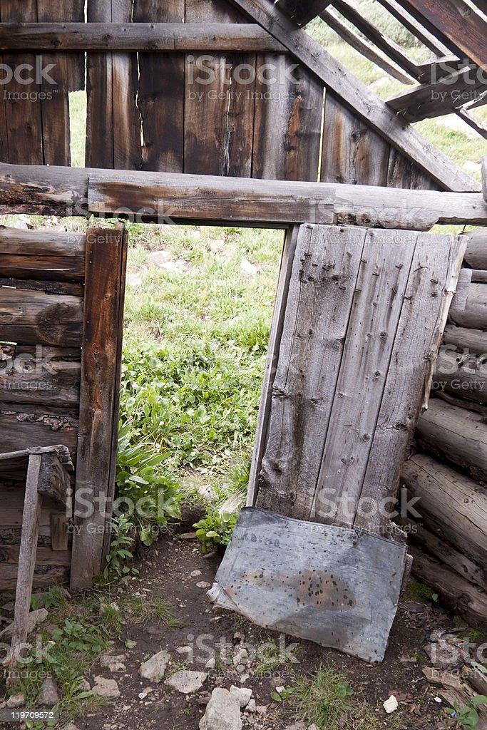 Old Shack stock photo