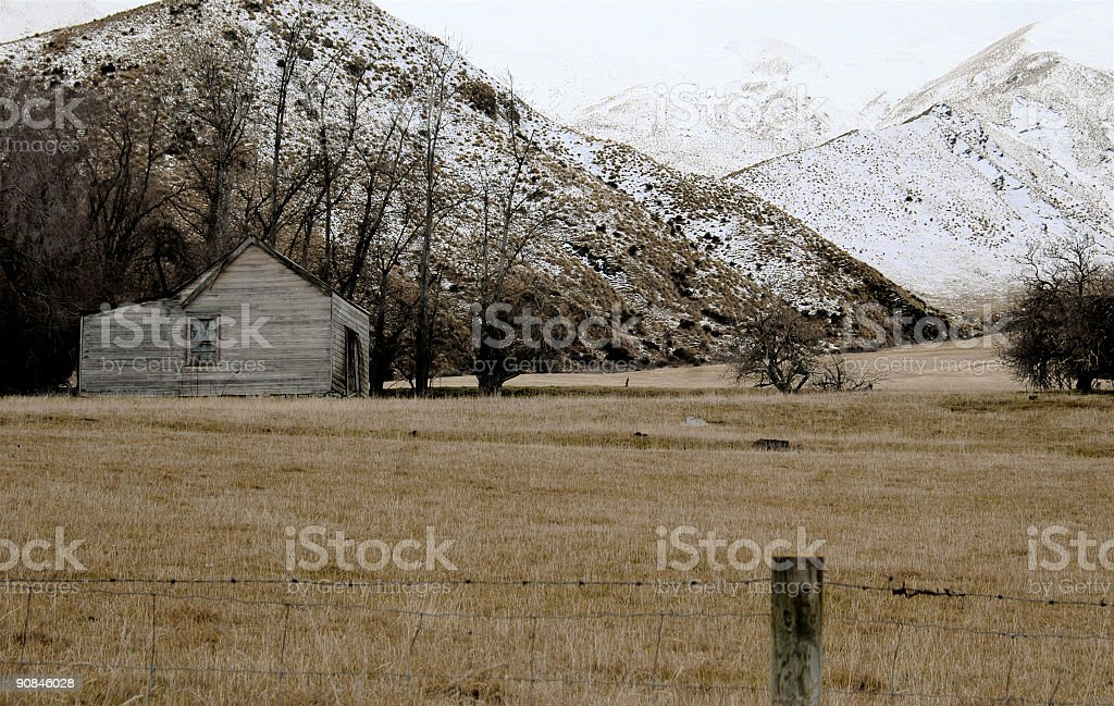 Old Shed on the Farm royalty-free stock photo