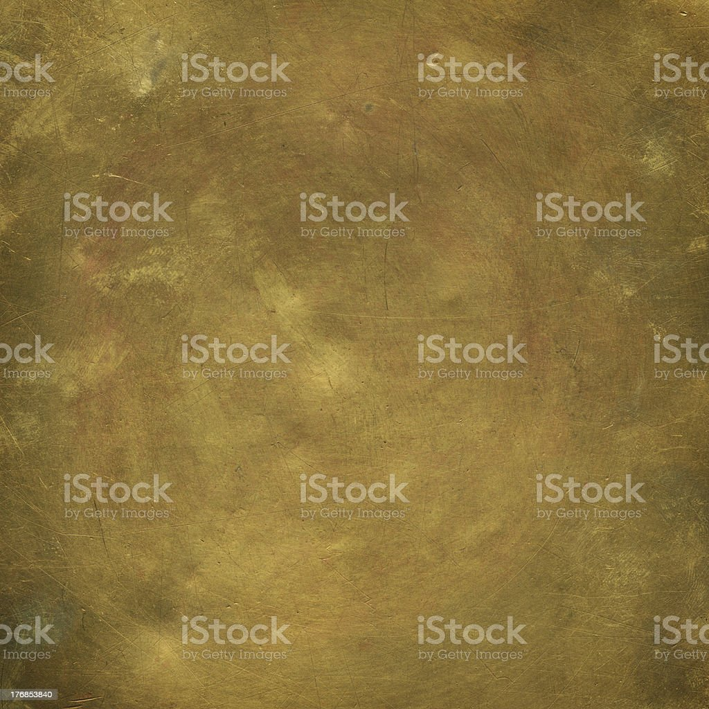 Old sheet bronze stock photo
