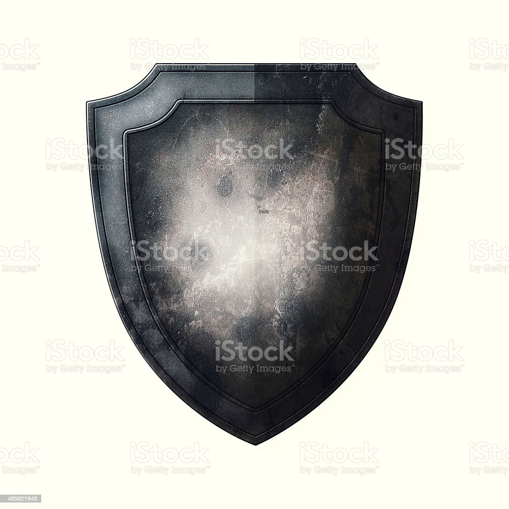 Old Shield stock photo
