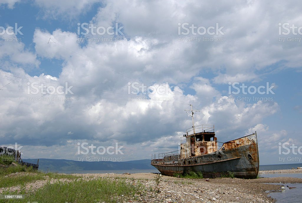 Old Ship royalty-free stock photo