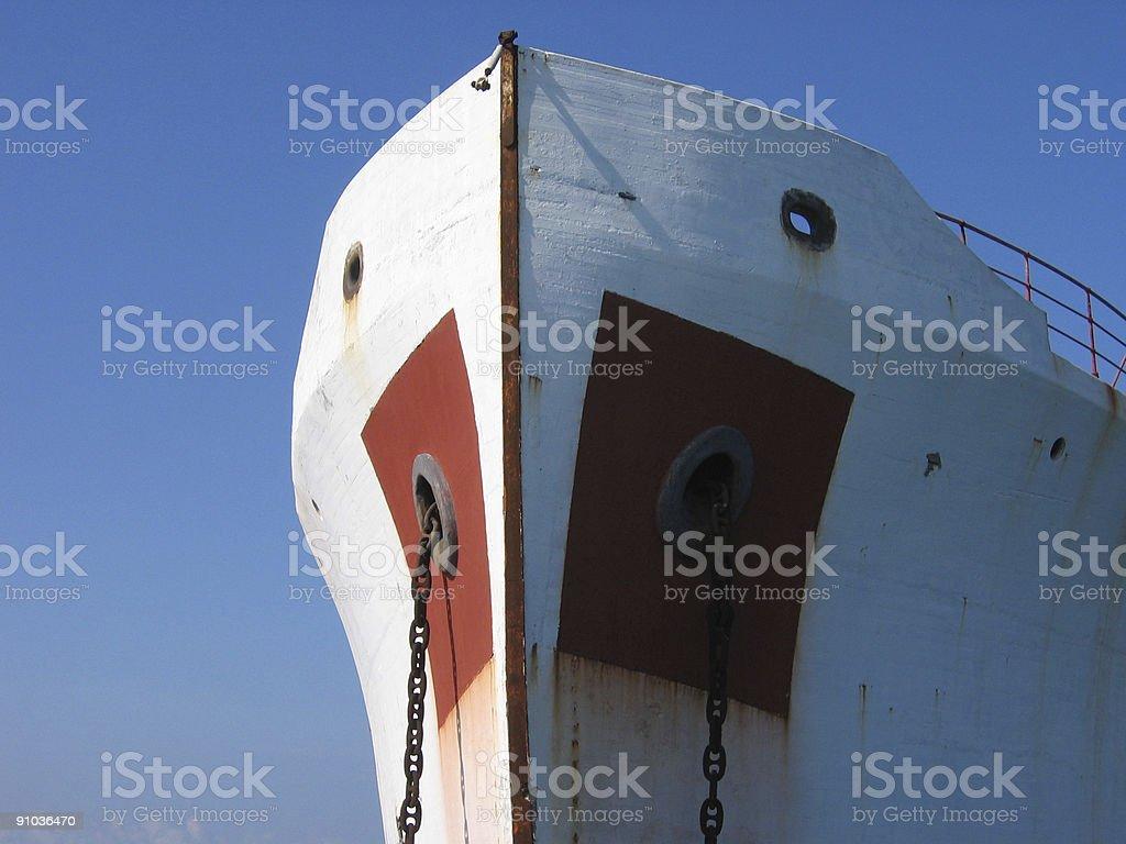 Old ship royalty-free stock photo