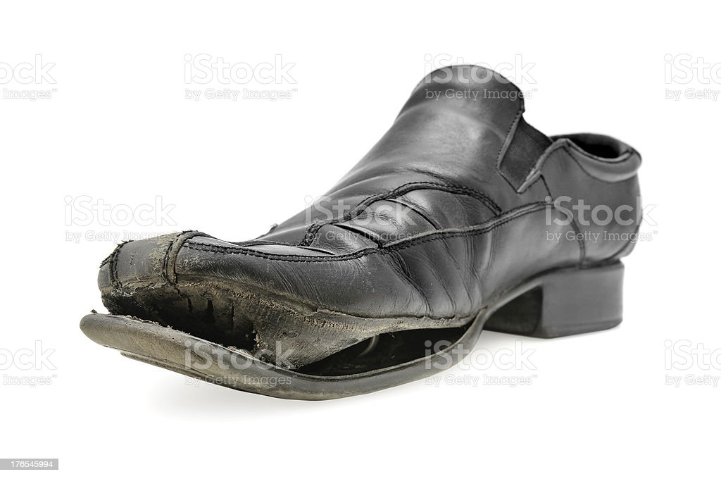 old shoe royalty-free stock photo