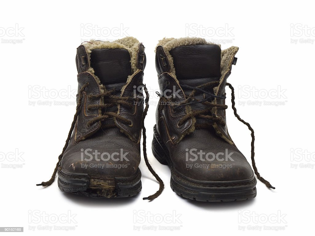 Old shoes royalty-free stock photo