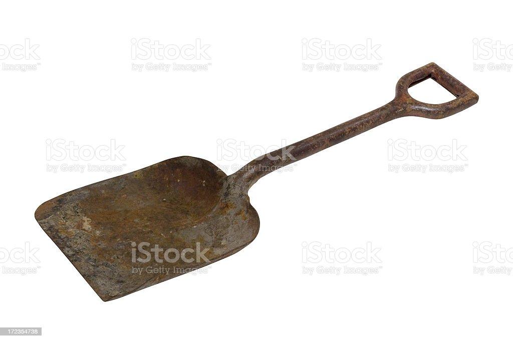 Old Shovel II royalty-free stock photo