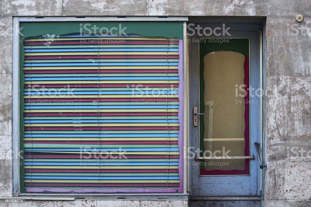 old showcase stock photo