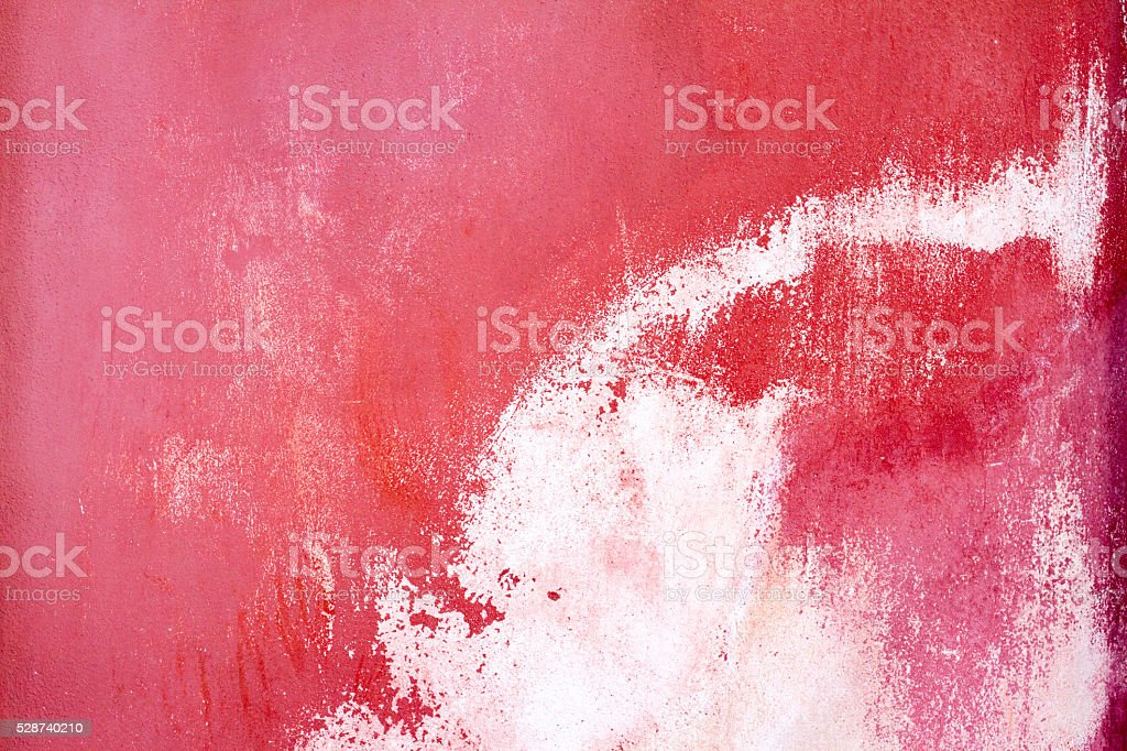 Old Sicilian Wall Background Texture Abstract: Vibrant Pink and White stock photo