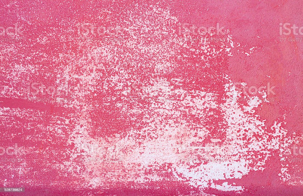 Old Sicilian Wall Background Texture: Vibrant Pink and White stock photo