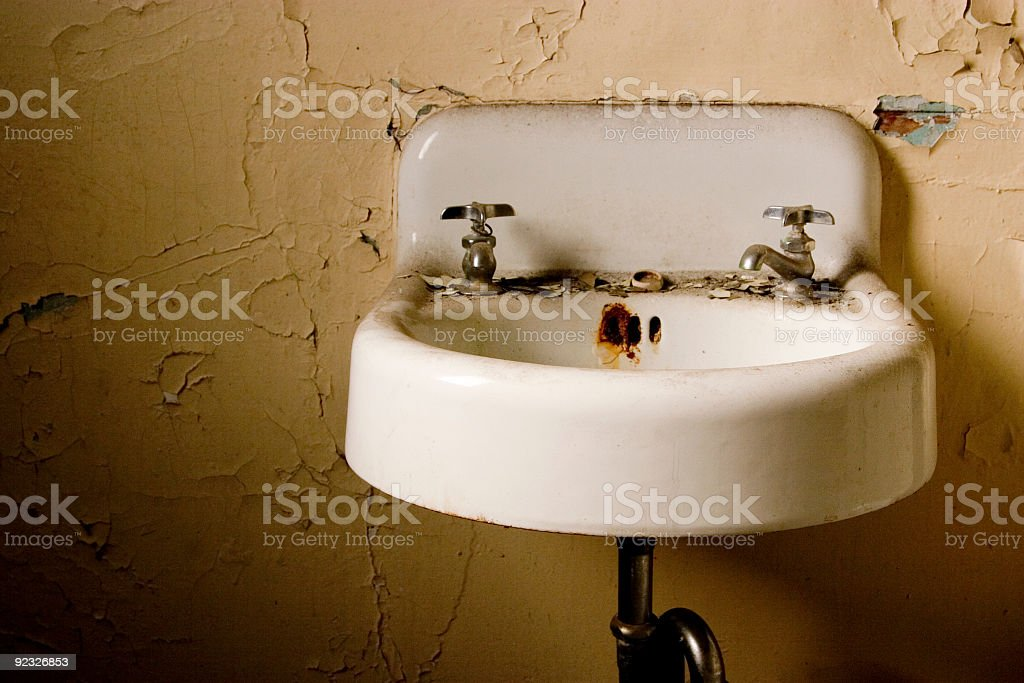 old sink royalty-free stock photo