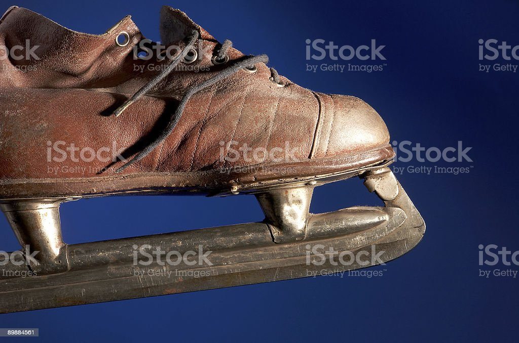 old skate royalty-free stock photo