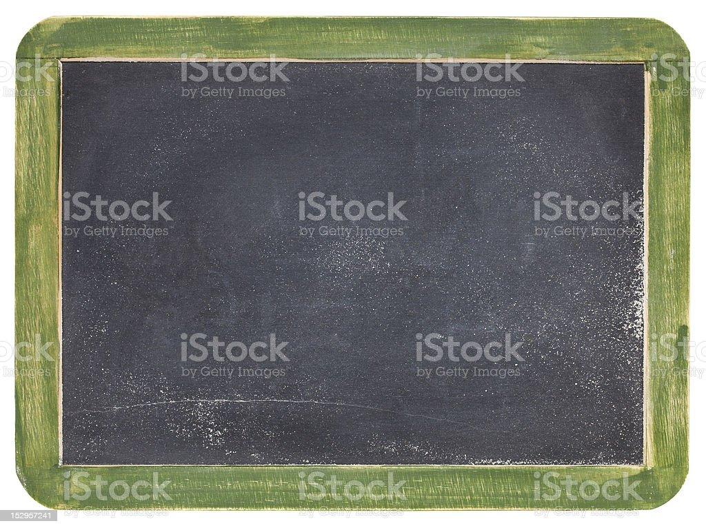 old slate blackboard royalty-free stock photo