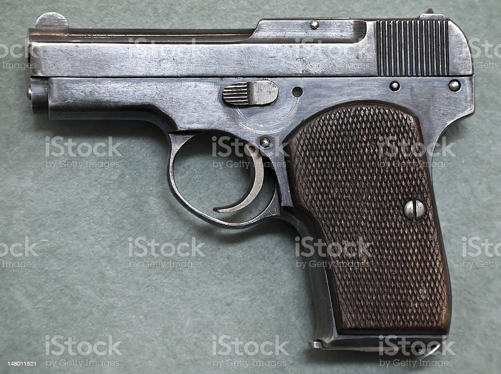 Old small pistol royalty-free stock photo