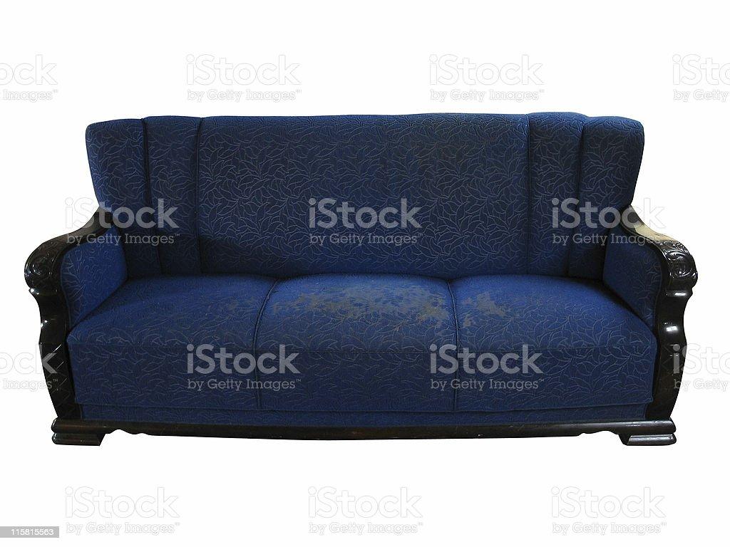 old sofa royalty-free stock photo