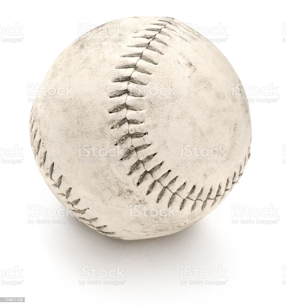 Old Softball stock photo