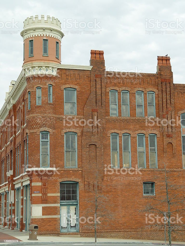 Old Southern Building stock photo