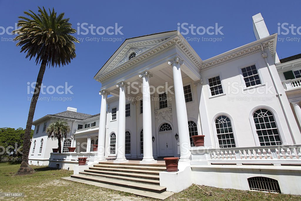 Old Southern Estate royalty-free stock photo
