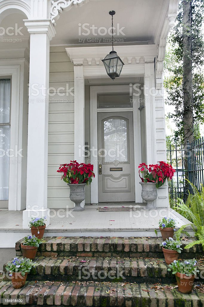 Old Southern Mansion in New Orleans royalty-free stock photo