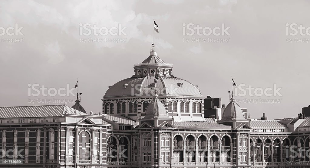 Old Spa Hotel royalty-free stock photo