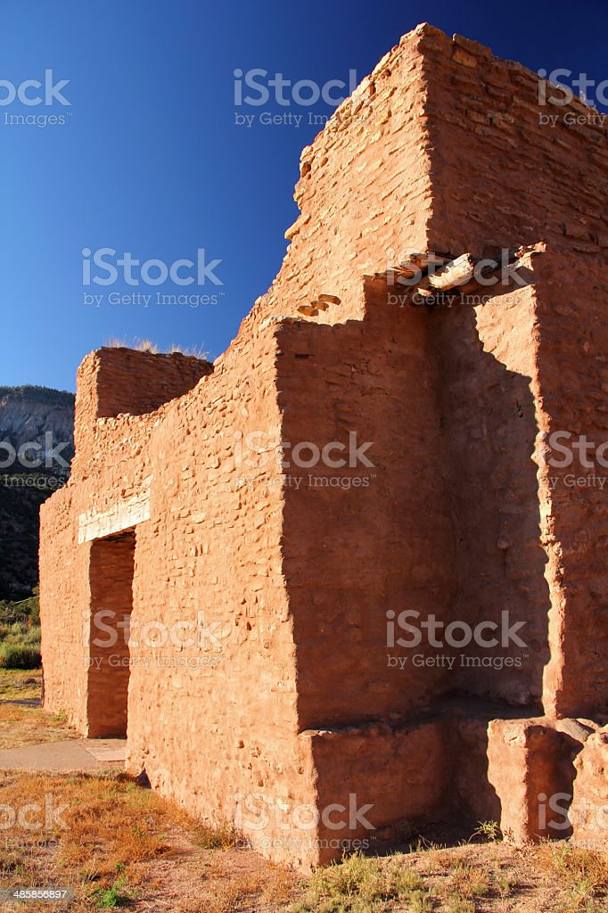 Old Spanish Mission stock photo