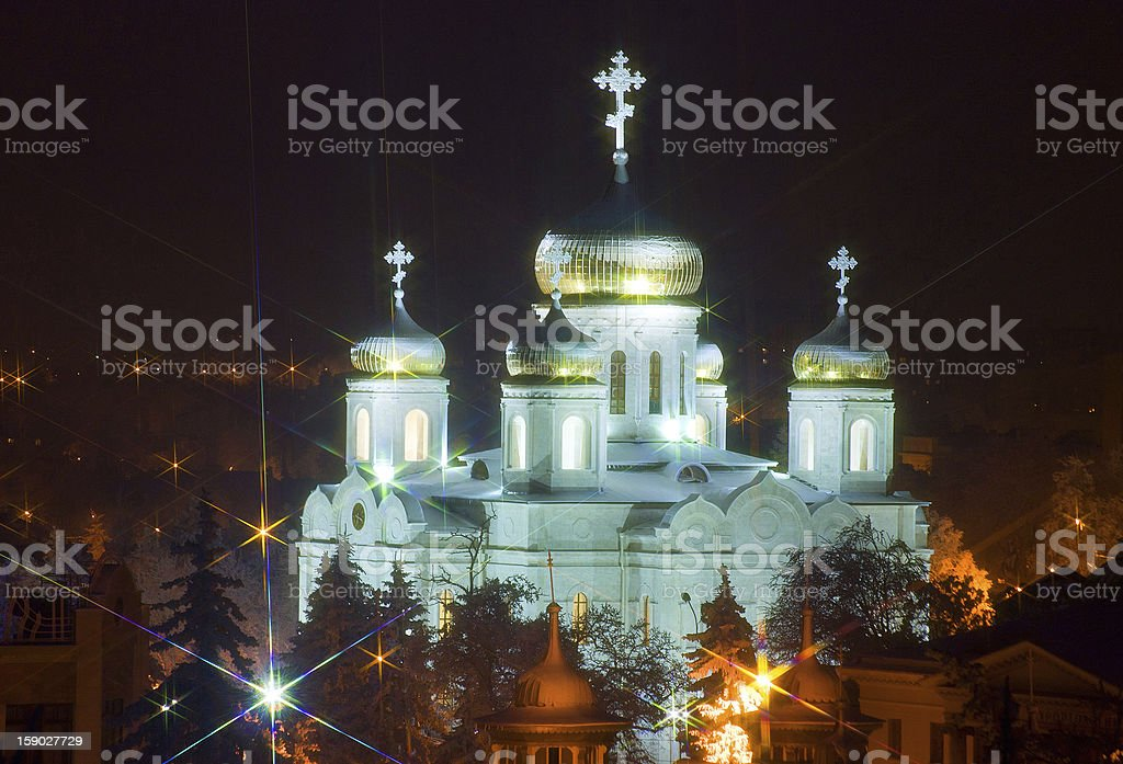 Old Spasski Cathedral. royalty-free stock photo