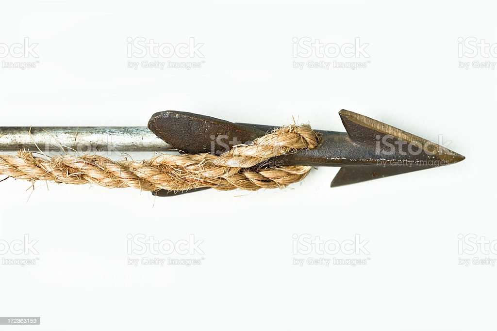 old spear royalty-free stock photo