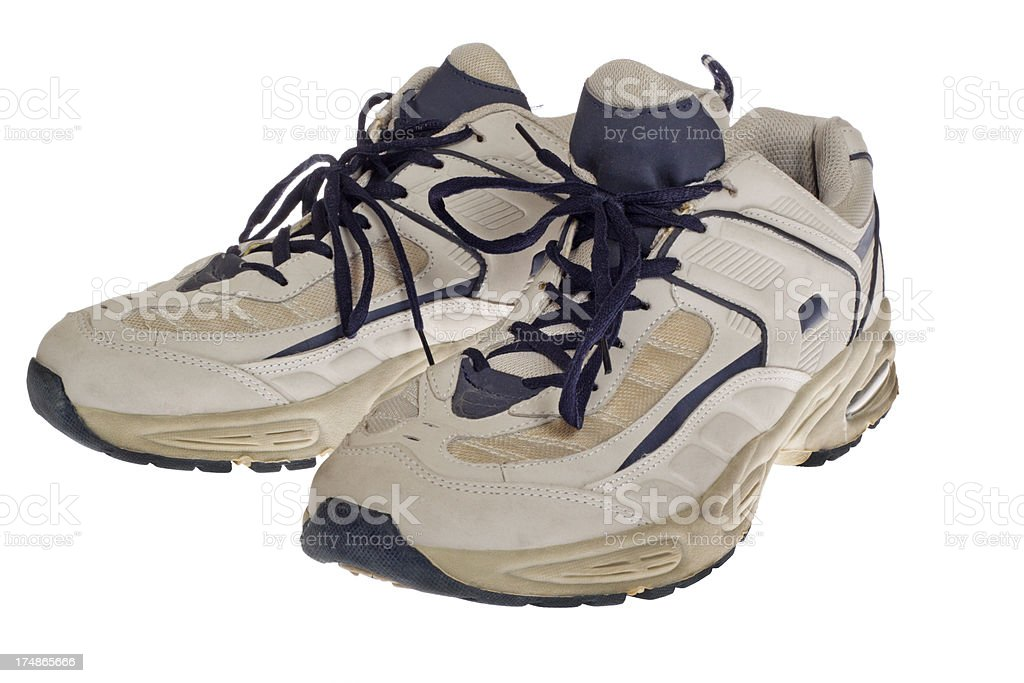 Old Sport Shoes royalty-free stock photo