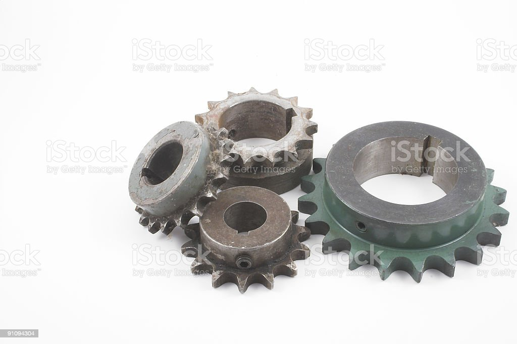 Old Sprockets royalty-free stock photo
