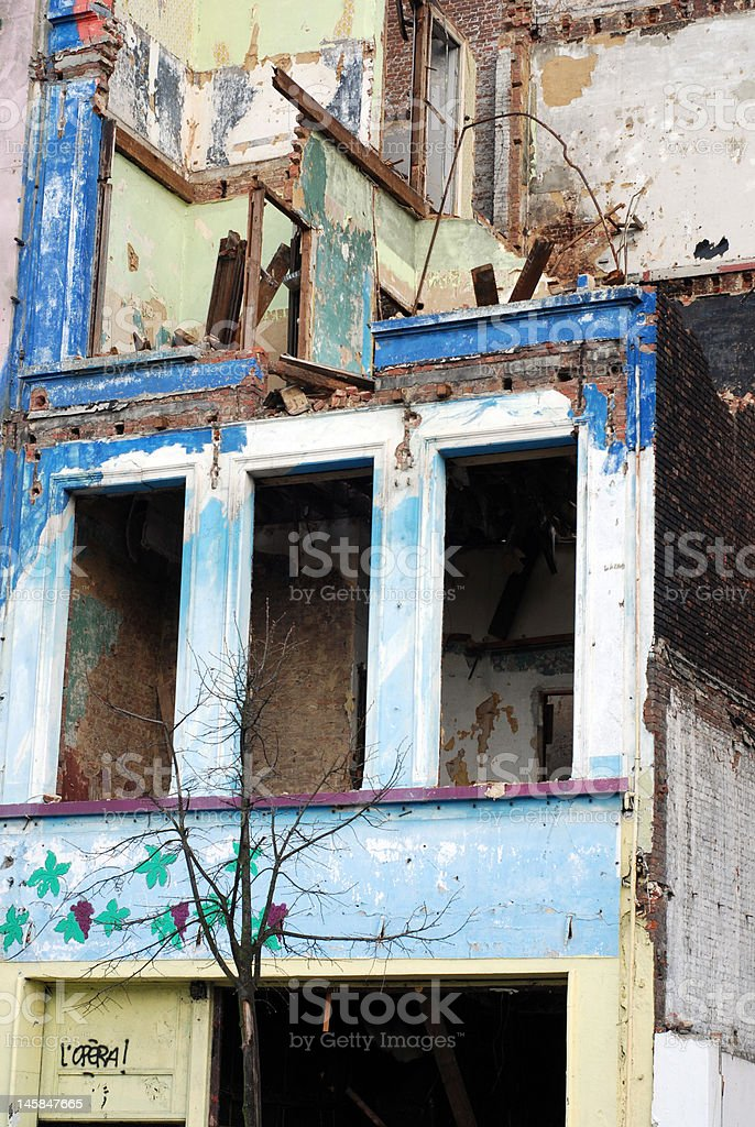Old squat royalty-free stock photo