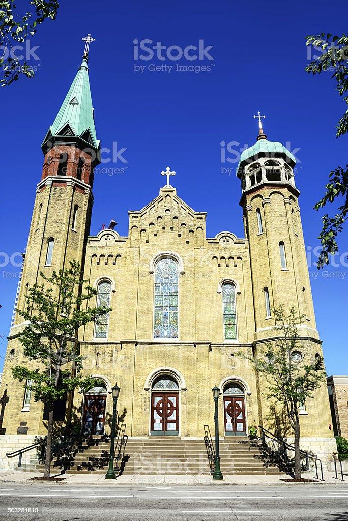 Old St. Patricks Church, Chicago royalty-free stock photo