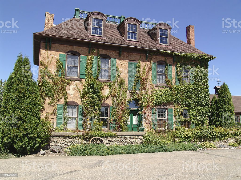 Old stagecoach Inn stock photo