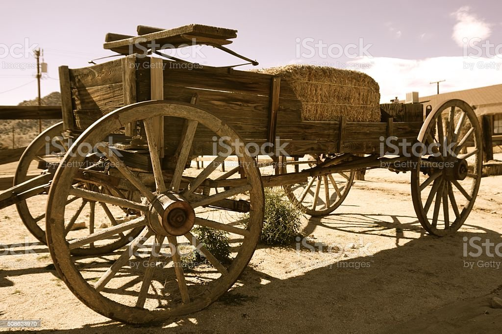 Old Stagecoach stock photo