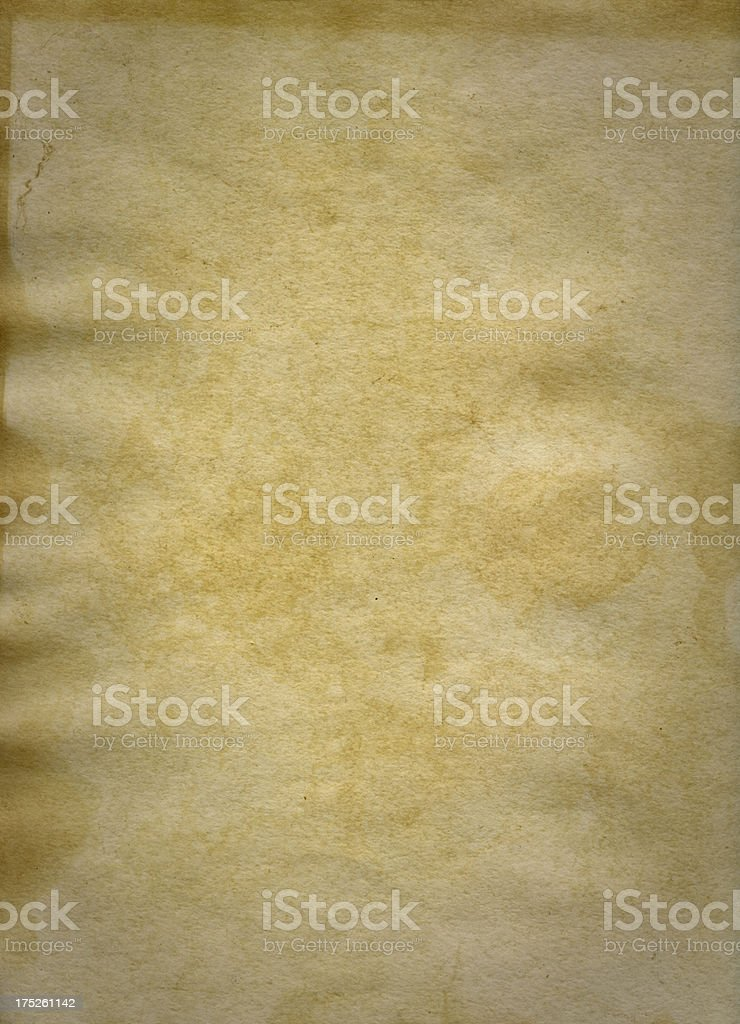 Old Stained Paper royalty-free stock photo