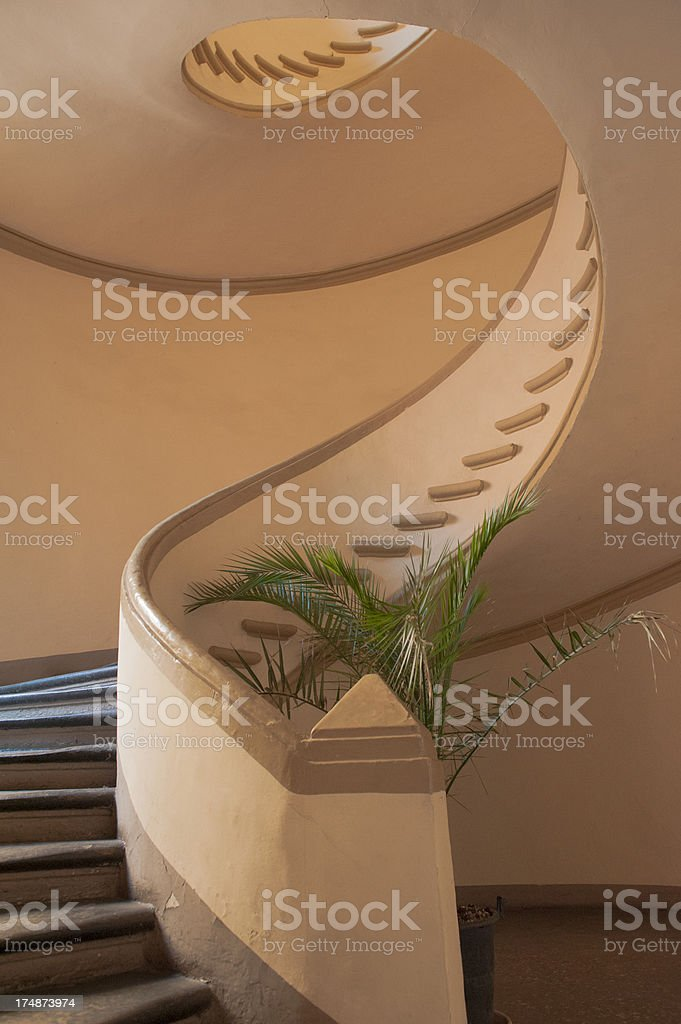 Old Staircase royalty-free stock photo