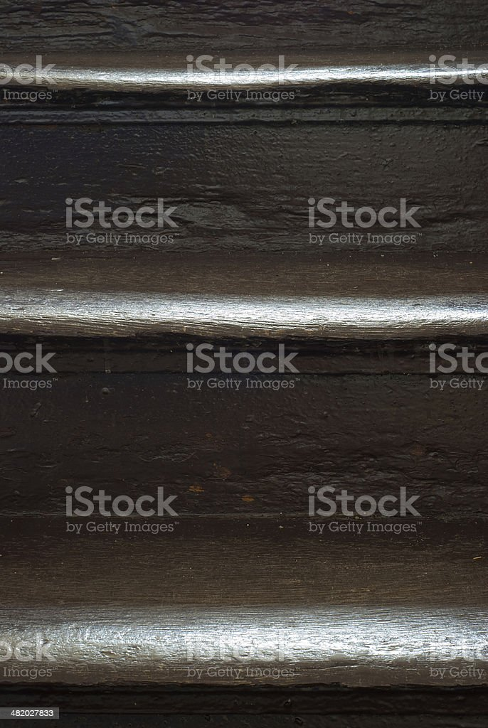Old las escaleras foto de stock libre de derechos