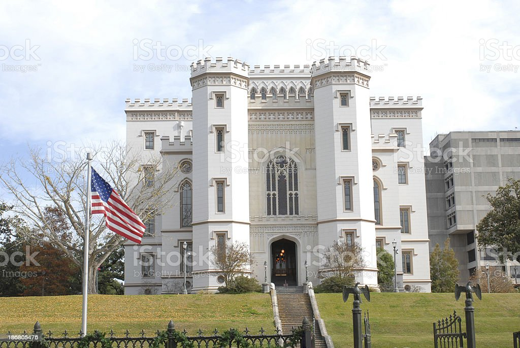 Old State Capitol royalty-free stock photo