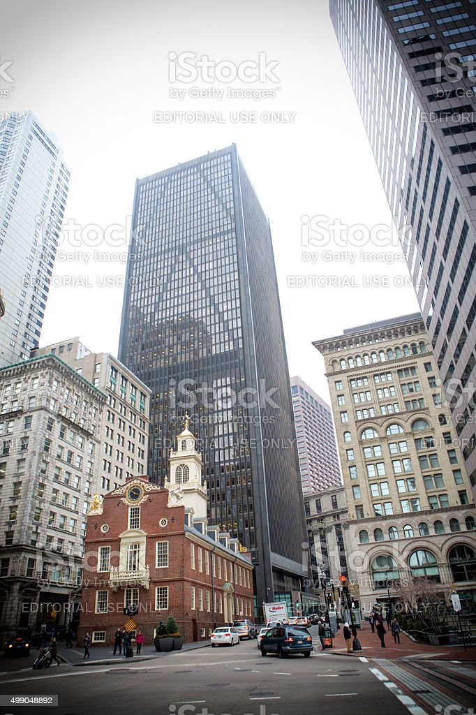 Old State House, Boston, Ma stock photo