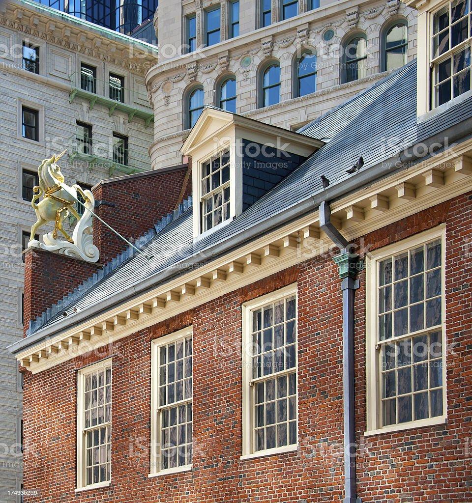 Old State House, Boston royalty-free stock photo
