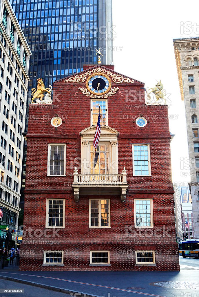 Old State House stock photo