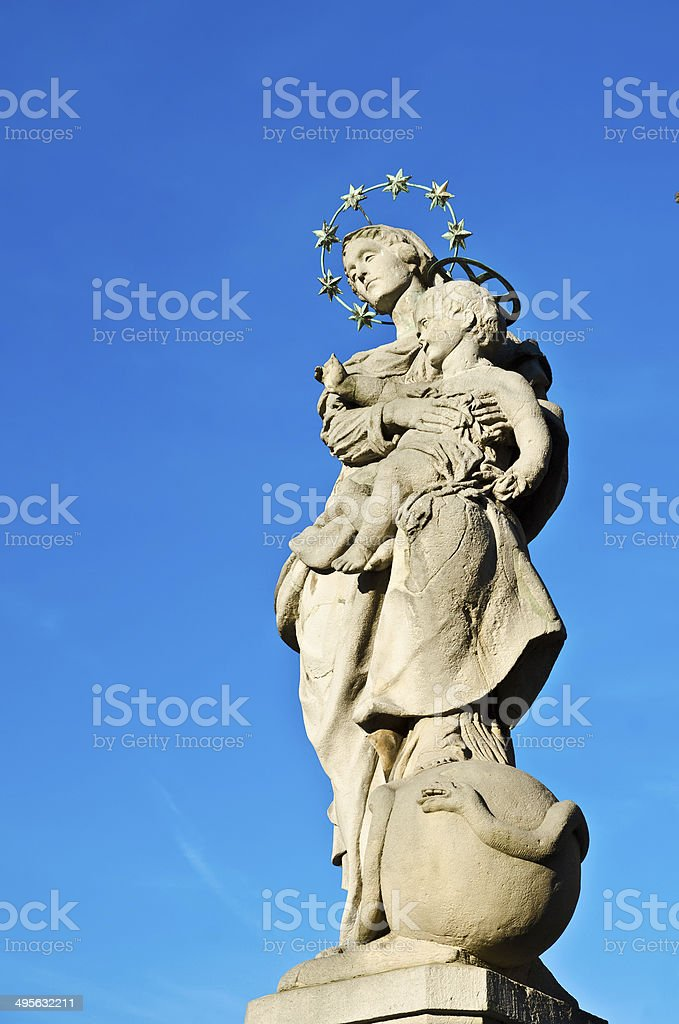 old statue royalty-free stock photo